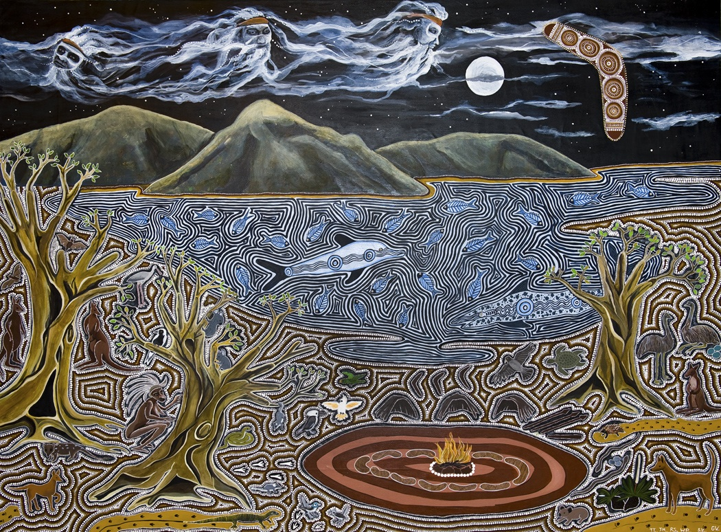The Dreamtime Story of the Three Brothers | Dreaming Eyes ...
